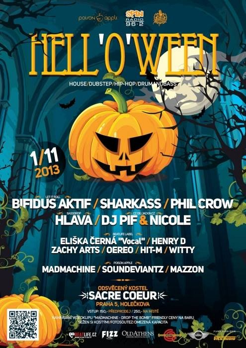 1/11 Hell-o-ween party v Sacre Couer