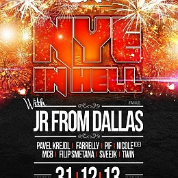 NYE in HELL flyer